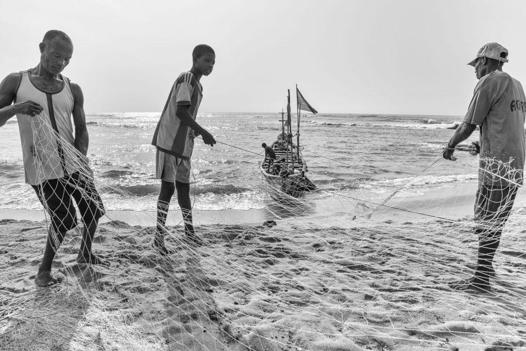 Fishermen in Elmina