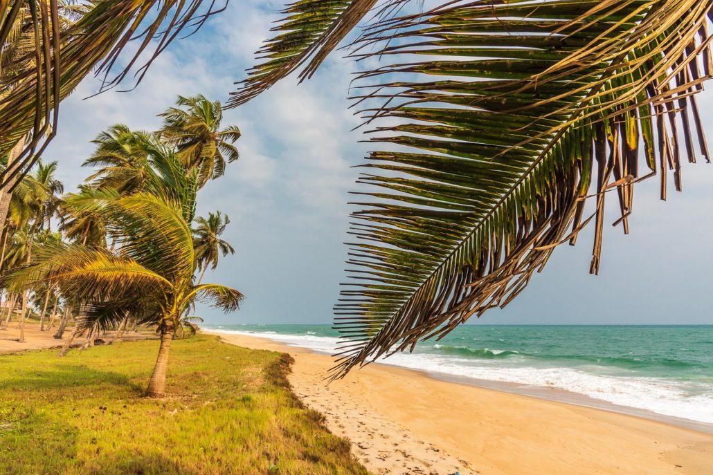 on the beach near Elmina, ghana, westafrica