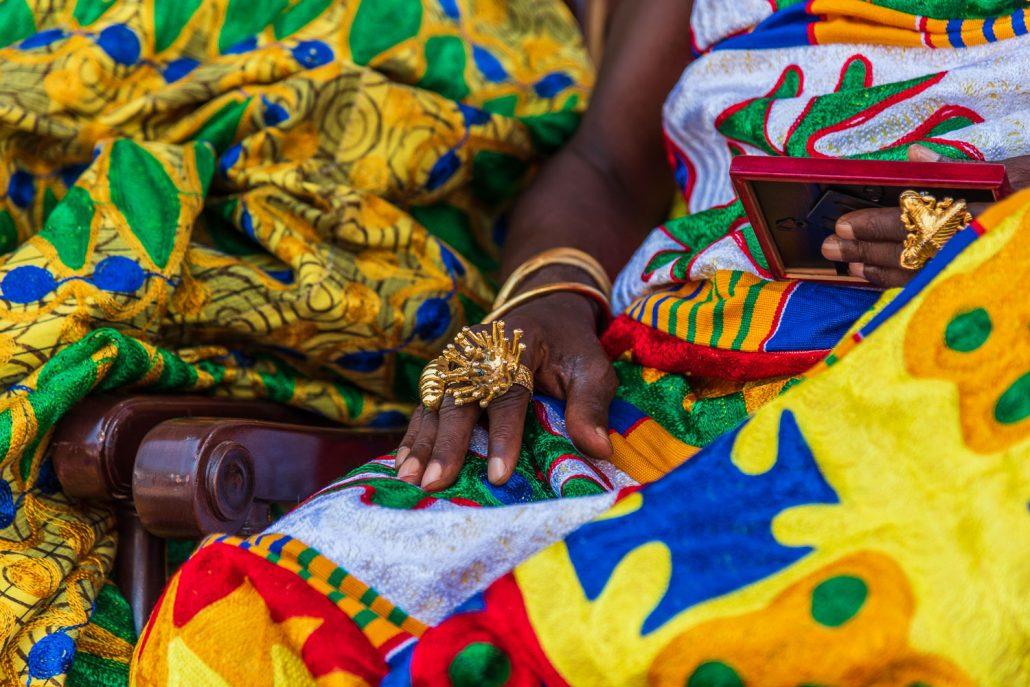 the Akwasidae festival, kumasi, ghana