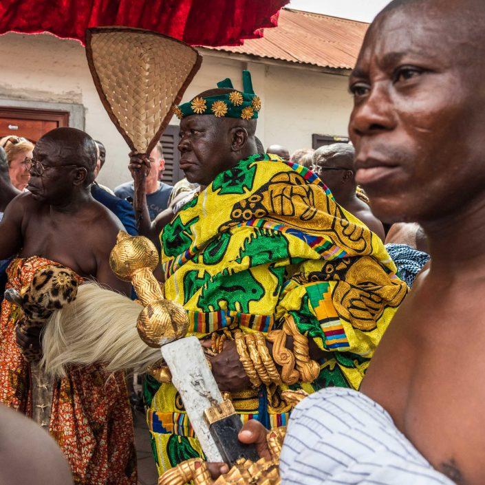 The King of the Ashanti people