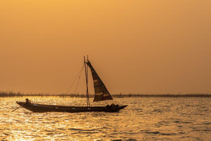 Fisherman in Ganviè