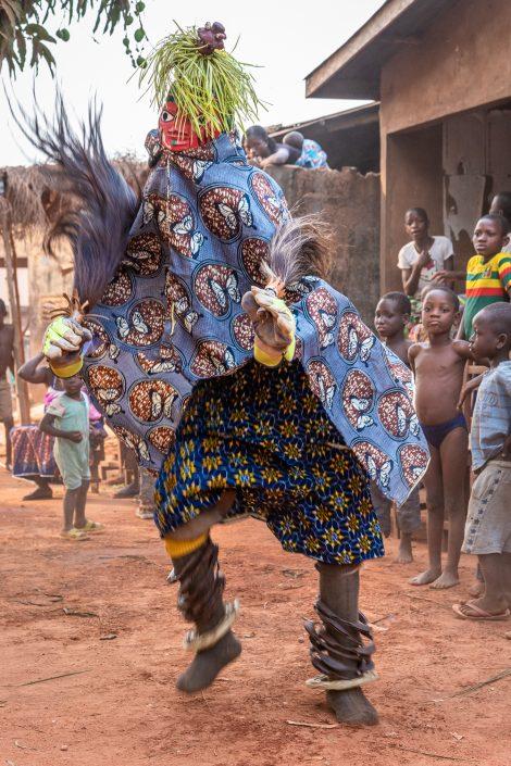 Gelede Mask dance