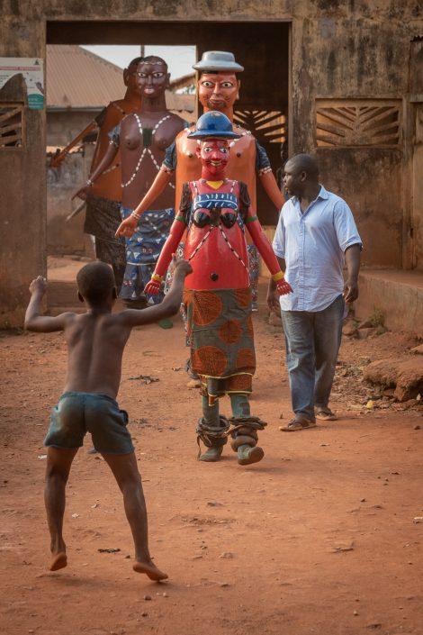 Gelede mask dance, benin, dahomey