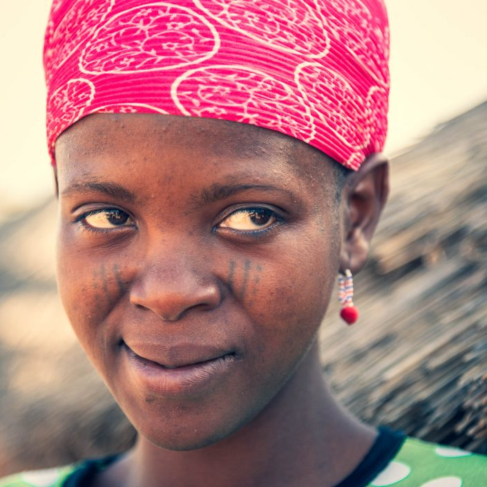 A Fulani Girl in northern benin
