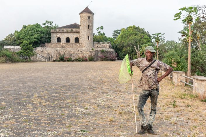 """Scottish"" castle in the Togo rainforest"
