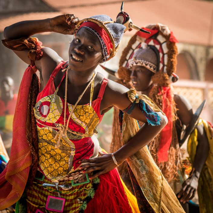 The carnival in Guinea Bissau