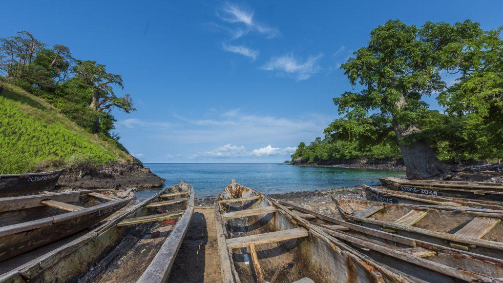 Lagoa Azul Sao Tome