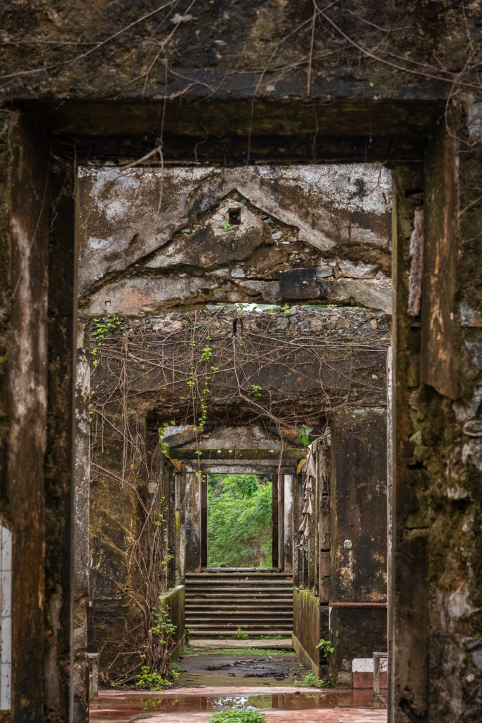 Roca Sundy - abandoned portuguese plantation