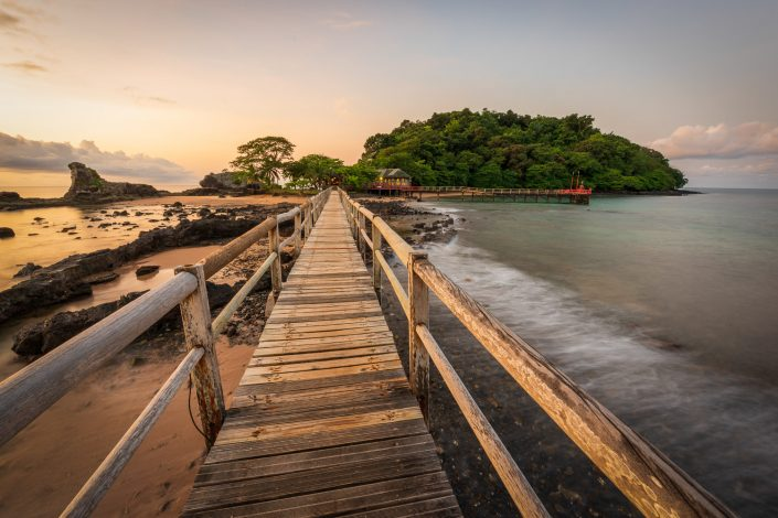 Bom Bom Resort Principe Island