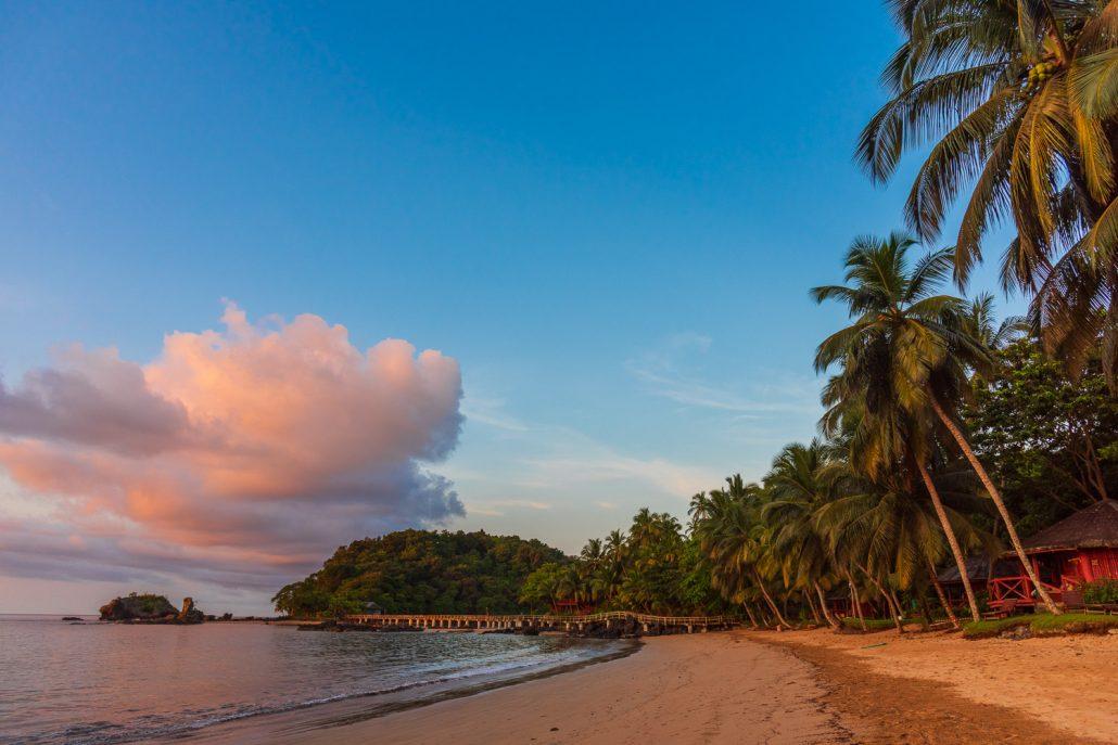 Bom Bom beach Principe