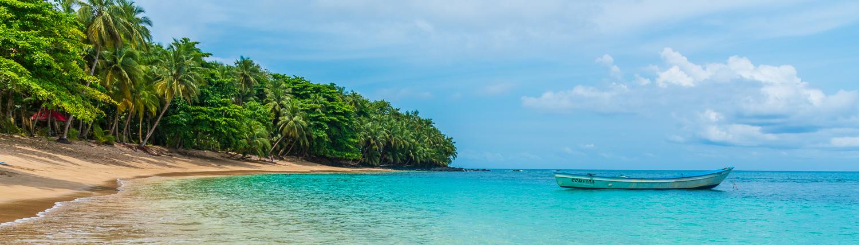 banana beach principe island
