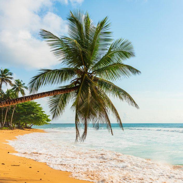 Praia Inhame Sao Tome