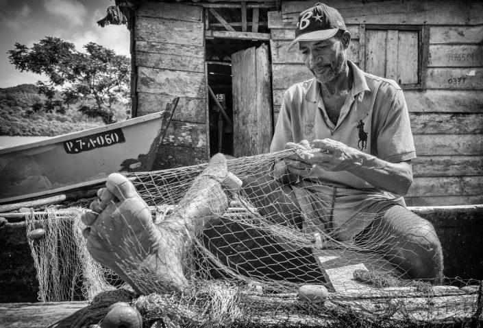 Fisherman in Sao Tome