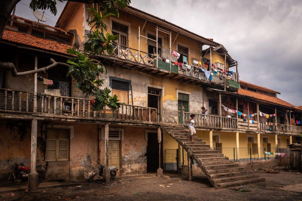 Abandoned plantation hospital