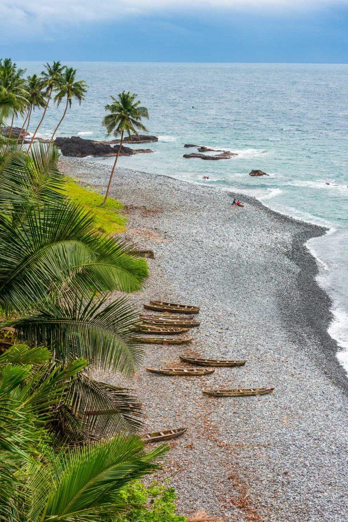 view over a beach